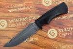 Нож туристический из литого булата T003 - наборная кожа
