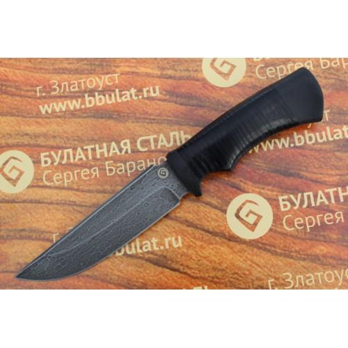 Булатный нож T003 - наборная кожа