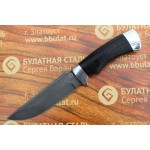 Булатный нож T003 -алюминий, наборная кожа