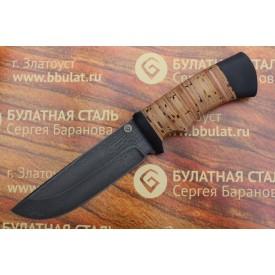 Булатный нож T005 (наборная береста)