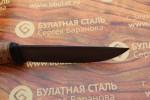 Булатный нож T005 - наборная береста