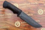 Нож туристический из литого булата T005 - наборная кожа