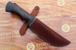Булатный нож T005 - наборная кожа