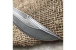 Булатный нож-великан V006 (стабилизированный граб)