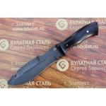 Нож охотничий из литого булата V001G-граб