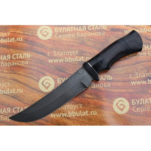 Нож охотничий из литого булата V005-V2