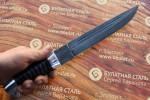 Нож охотничий из литого булата V007G - казачий пластунский