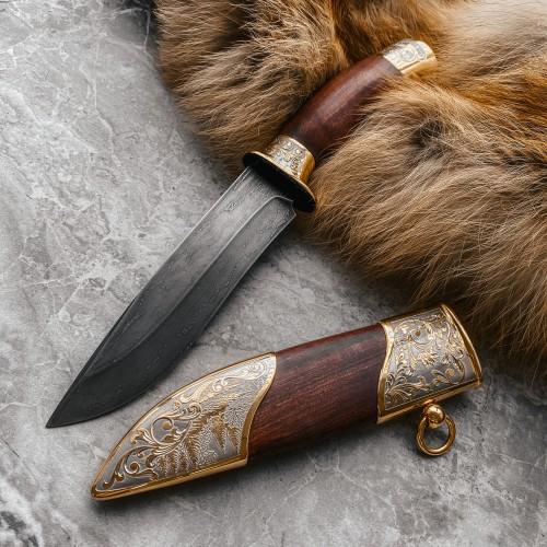 Подарочный булатный нож R015 Наследие