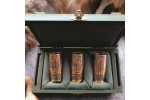 Золоченый набор рюмок - гильз (3 шт, коробка)