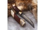 Подарочный булатный нож V005 Златоуст